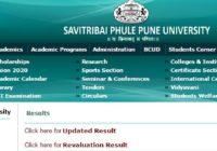 Pune University Result 2018