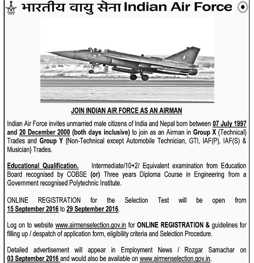 IAF-Air-Man-Group-X-and-Group-Y-2016-www.indgovtjobs.in3_ Sa Air Force Application Form on 1206 example bullets,