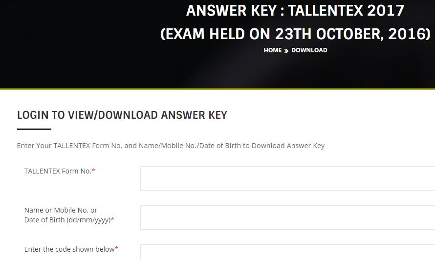 allen-tallentex-23-october-answer-key