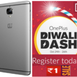 RS 1 Oneplus Diwali Dash Sale