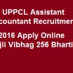 UPPCL Assistant Accountant Recruitment 2016