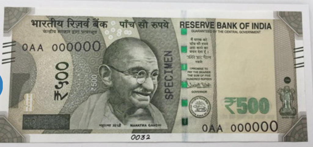 RS 500 & RS 2000 New Notes Design, Logo & Wallpapers