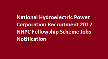 National Hydroelectric Power Corporation Recruitment 2017