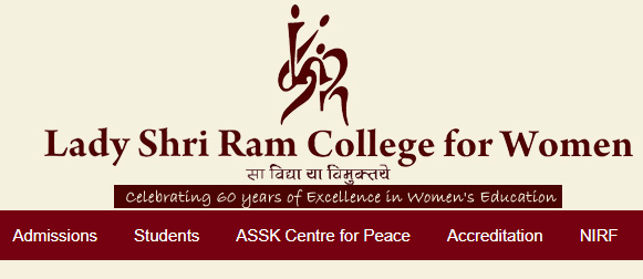 Lady Shri Ram College Cut off List 2019