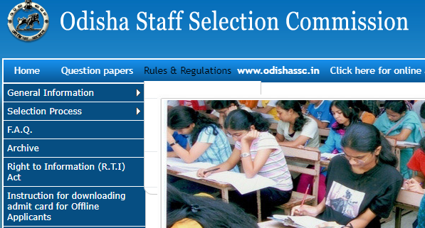 OSSC BSSO Admit Card 2019 Prelims Exam Date Download Block