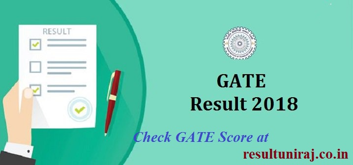 Gate Results: GATE Result 2018: Check GATE 2018 Exam Scorecard, GATE AIR