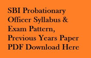 Ibps Po Model Papers Pdf In Hindi