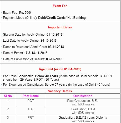 Indian Army School Teacher 8000 Recruitment 2018 भारतीय