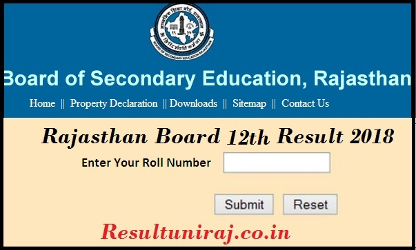 Rajasthan board 12th name wise result 2018 bser ajmer arts rajasthan 12th result 2018 previous year stats malvernweather Gallery