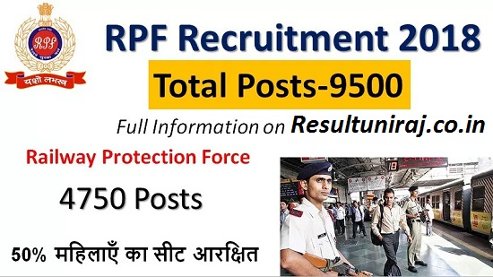 RPF Constable Recruitment 2018