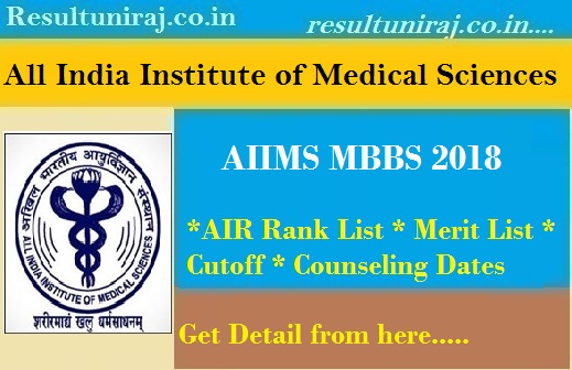 AIIMS MBBS Result 2019