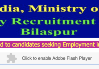 RRB Bilaspur Recruitment Board