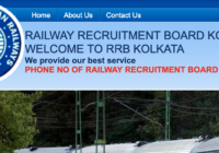 RRB Kolkata Recruitment Board