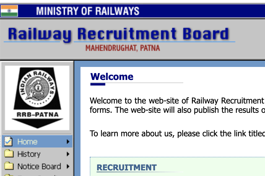 RRB Patna Recruitment Board