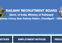 Railway Recruitment Board Website
