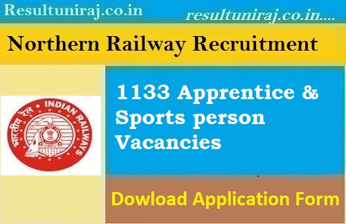 Northern Railway Recruitment 2019
