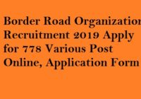 BRO DVRMT Recruitment 2019