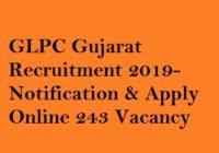 GLPC Recruitment 2019