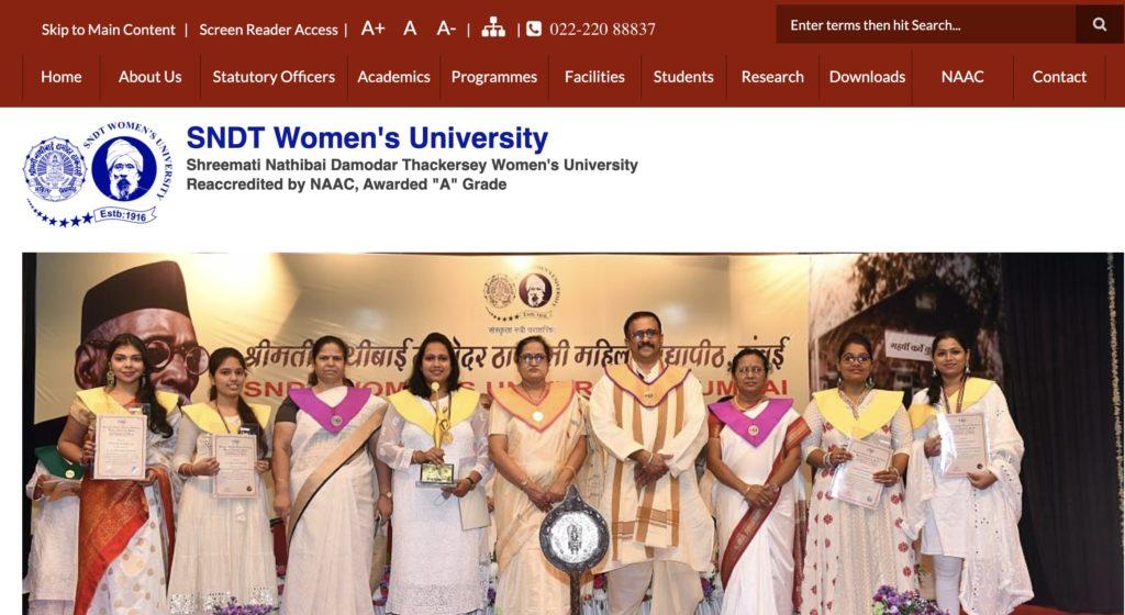 SNDT Women's University