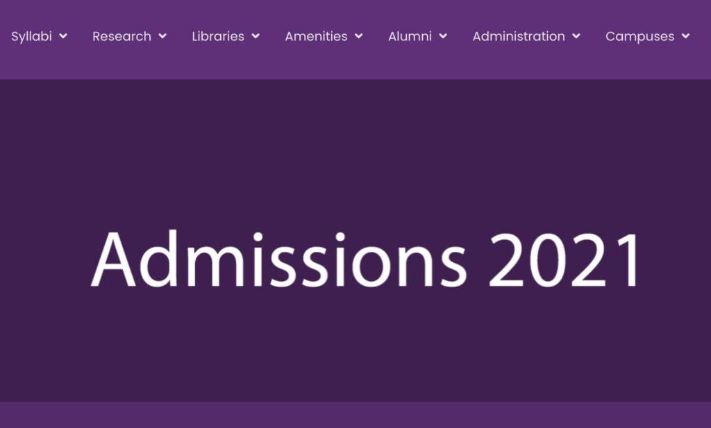 DU Admission Cut off List 2021