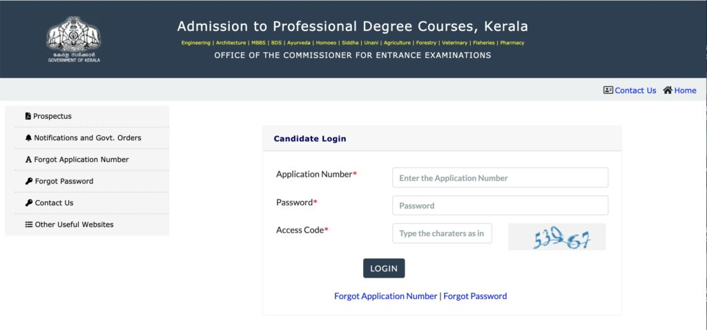 KEAM 2020 Admit Card released at cee portal