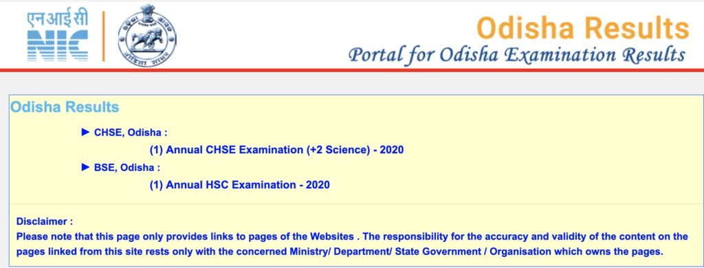 Odisha CHSE+2 Result 2020 Name & Roll Number Wise Check Odisha 12th Result