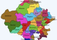 Rajasthan State Districts Name & Map