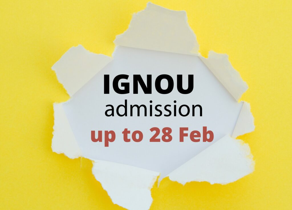 IGNOU extends January session re-registration process till 28 February