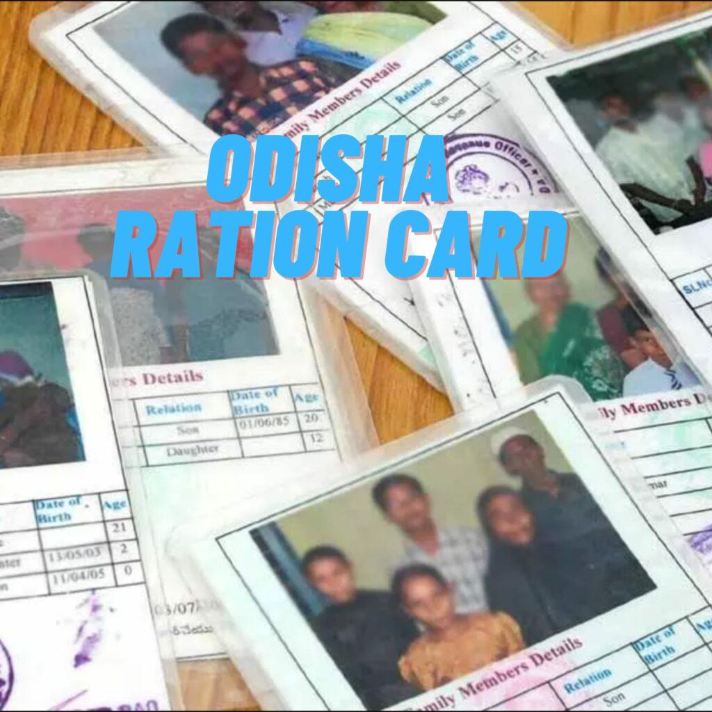 Odisha Ration Card 2021